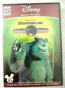 19668-Disney-Monsters-Inc-De-Billard-Beast-Neuf-Scelle-PC-2002-Windows-X