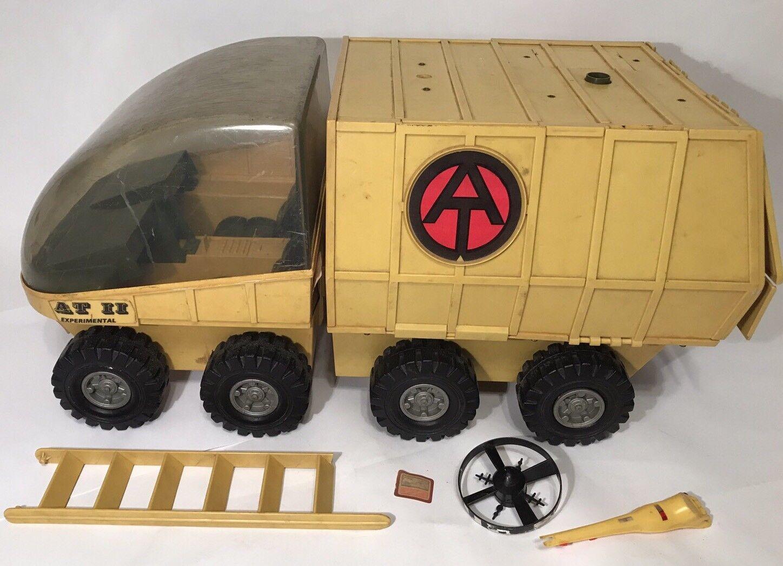 más orden Vintage GI Joe Adventure Team AT II Experimental Mobile Mobile Mobile Support Vehicle 1972 Set  toma