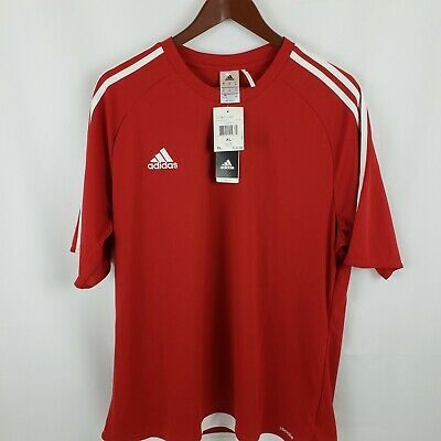 Adidas Men's Estro 15 Jersey Red Climalite Jersey New With Tags | eBay