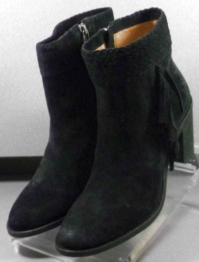 36NP111181 ltspbtt 50 para mujeres zapatos M Negro botas De Gamuza Cremallera H.S. Trask