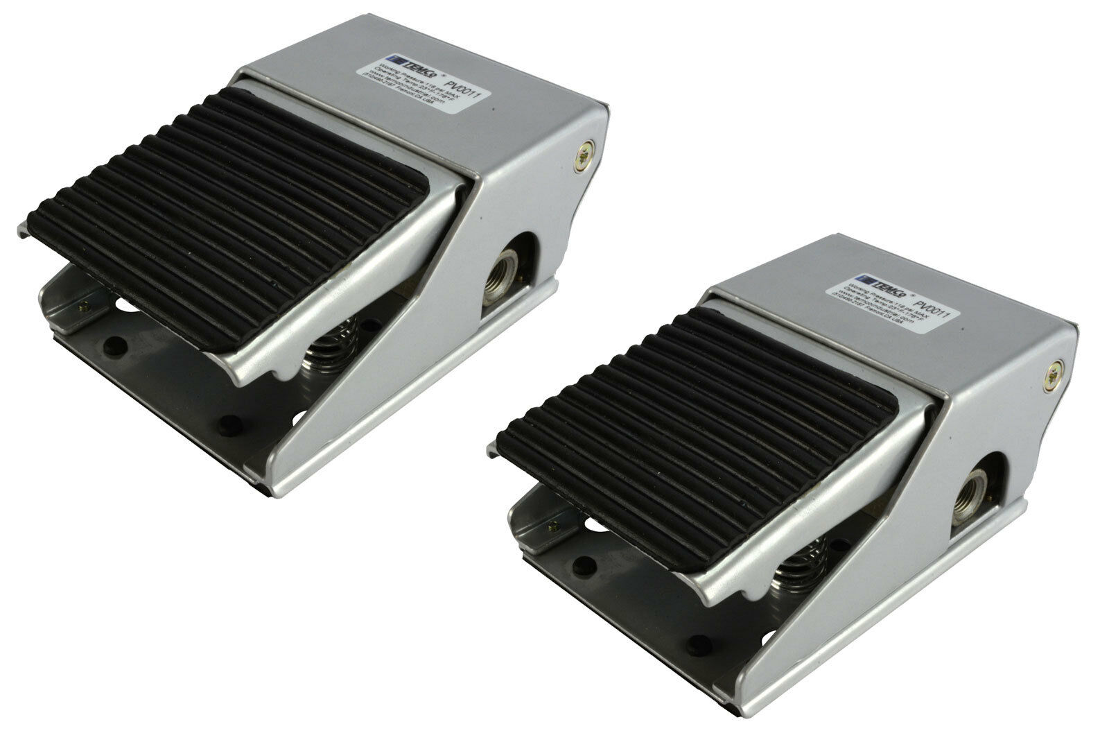 Directional Pneumatic Foot Pedal Valve Kit 2‑Position 5‑Way Aluminum Pedal with Cover Lock Foot Pedal Air Valve Foot Valve Energy Saving and Environmental Protection