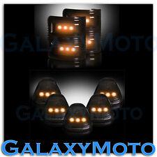08-16 Ford Super Duty SMOKE Lens Amber LED Mirror Turn Signal+5pcs Cab LED Light