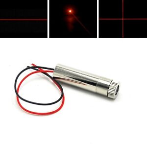650nm-10mW-Dot-Line-Cross-Focusable-Red-Laser-Diode-Module-3-5V-12x35mm