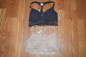 5ad2f6138ebe38 NEW Womens DKNY Lot of 2 Dkinny Dip Beige Revolver Gray Lace ...