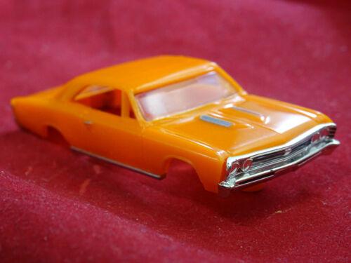 New 1967 Yellow Chevelle MoDEL MoToRING T-jet HO Scale Slot Car Body Aurora RRR