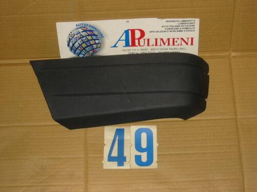 BUMPER CORNER 29603 CANTONALE PARAURTI ANTERIORE DX ANTRACITE ALFETTA 84