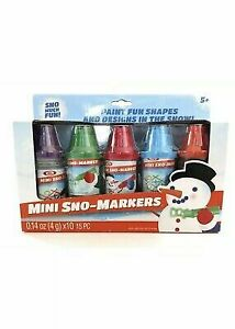 Ideal-Mini-Sno-Markers-Set-of-5-Markers-fun-winter-toy