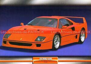 FERRARI-F-40-F40-1988-Fiche-Auto-Collection
