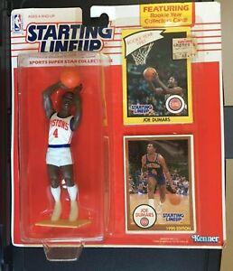 1990 Starting Lineup Joe Dumars Detroit Pistons Basketball NBA SLU