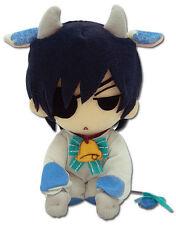 Black Butler 8'' Ciel Cow Plush Licensed Kuroshitsuji NEW
