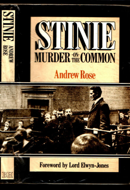 STINIE Murder on the Common by Andrew Rose  (1911) very good <<<<<<<