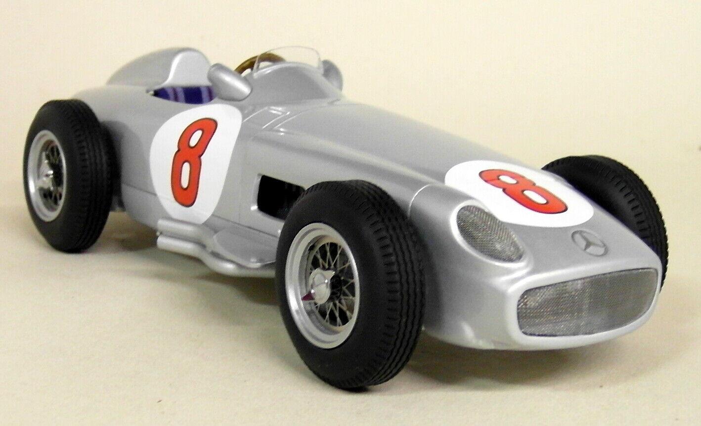 IScale échelle 1 18 Fangio Mercedes W196 F1 1955 WINNER DUTCH GP Résine Voiture Modèle