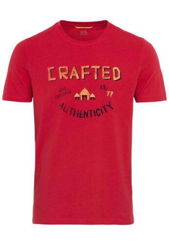 camel active Herren T-Shirt Print 409614 3T34 40 NEU