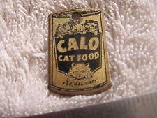 Calo Cat FOOD Metal Tag FOB Advertising