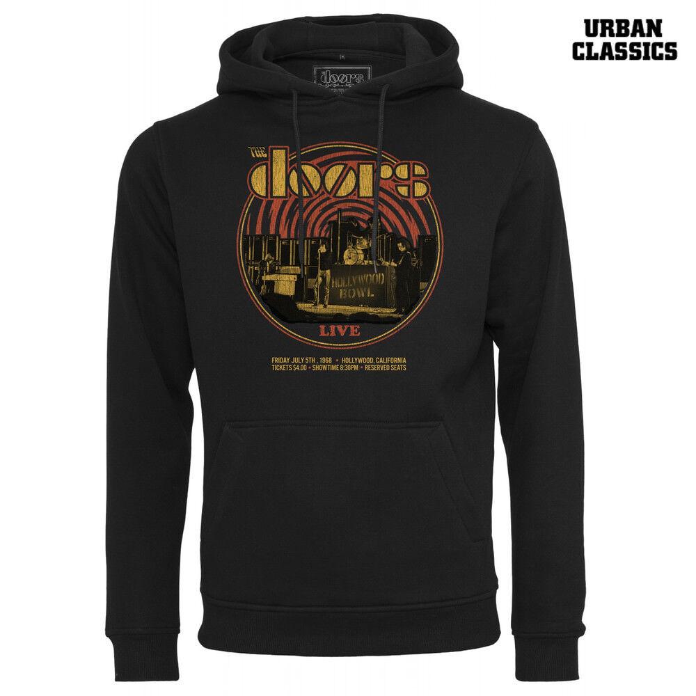 Urban Classics Herren Hoody The Doors Warp Hoodie Pullover Kapuze S M L XL XXL