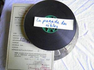 Film-16mm-Documentaire-034-La-parade-des-cibles-034-annees-50