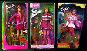 Monsters Unleashed Daphne Barbie Doll Scooby Doo Pink Dress Amusement Park Lot 3 27084131192 Ebay
