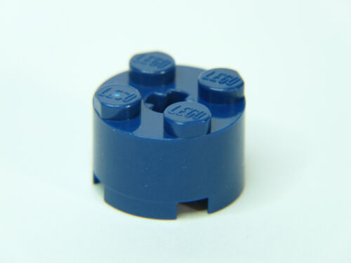 Lego Brique ronde brick Round 2x2 with Axle Hole réf 3941