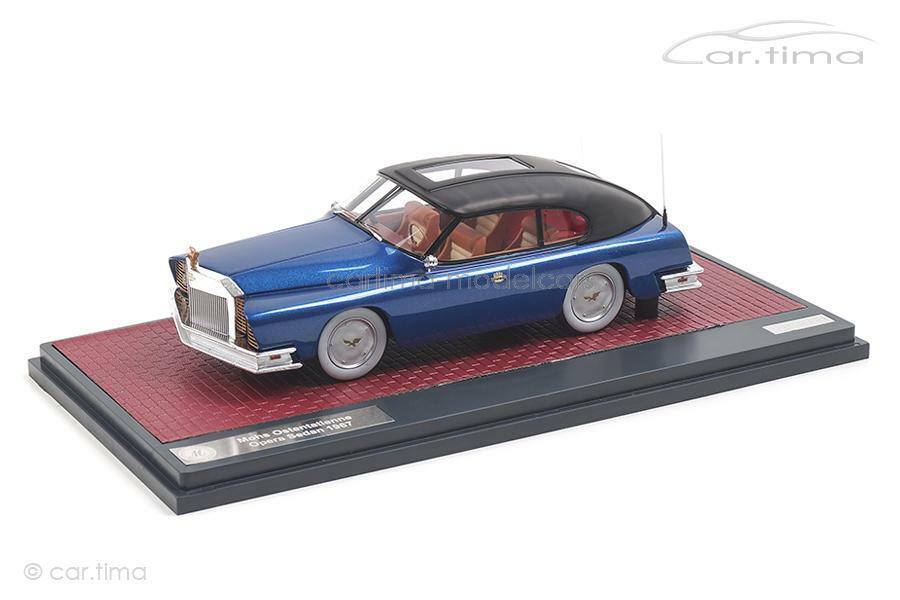 Mohs ostentatienne OPERA Sedan-Bleu-Matrix 1 43 - mx41306-012