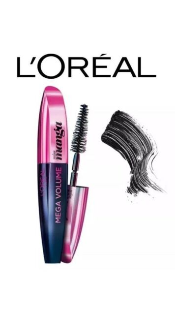 db68ac2cd0d Loreal Paris Mega Volume Mascara Miss Manga Black Brand New Genuine Sealed