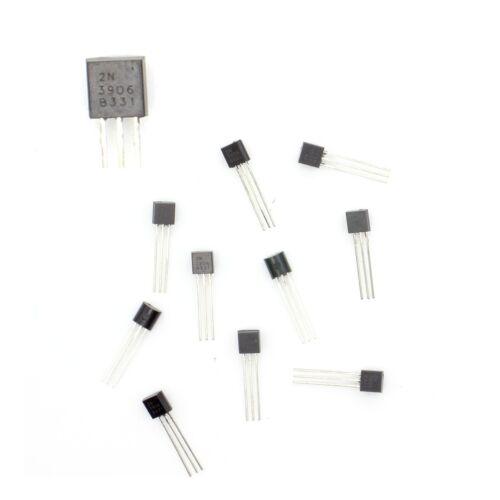 TO-92-36tran006 10x Transistor 2N3906 B331 PNP