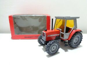 VINTAGE-1983-MASSEY-FERGUSON-3050-1-32-SCALE-DIECAST-TRACTOR-by-ROS-ITALY-BOXED