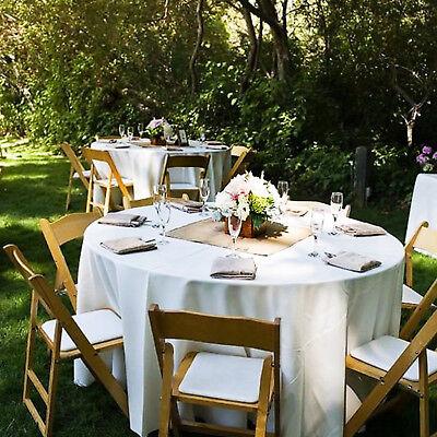 Modern Farmhouse Square Burlap Table Topper For Wedding Party Decor Ebay