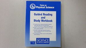 Focus on physical science guide reading study workbook 0130527297 image is loading focus on physical science guide reading study workbook fandeluxe Image collections