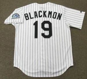 online store 9632c cfd78 Details about CHARLIE BLACKMON Colorado Rockies Majestic Home Baseball  Jersey