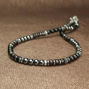 collier perle homme a la mode