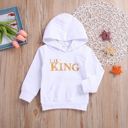 US Newborn Toddler Baby Girl Boy Winter Warm Clothes Hoodie Tops Sweatshirt Coat