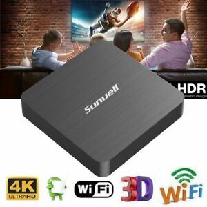 Details about Sunvell H3 TV Box Allwinner H3 Android Quad Core 2GB+16GB  2 4G WiFi 100Mbps 4K