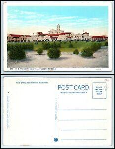 ARIZONA-Postcard-Tucson-U-S-Veterans-Hospital-H16