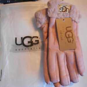 UGG-Women-039-s-winter-gloves-pink-brand-new