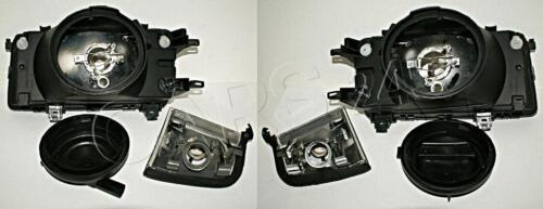 Halogen Scheinwerfer paar für Audi 80 B3 1986-1991