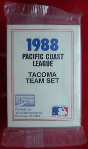 1988-TACOMA-TIGERS-PROCARDS-MINOR-LEAGUE-TEAM-SET-BLANKENSHIP-OAKLAND-A-039-S
