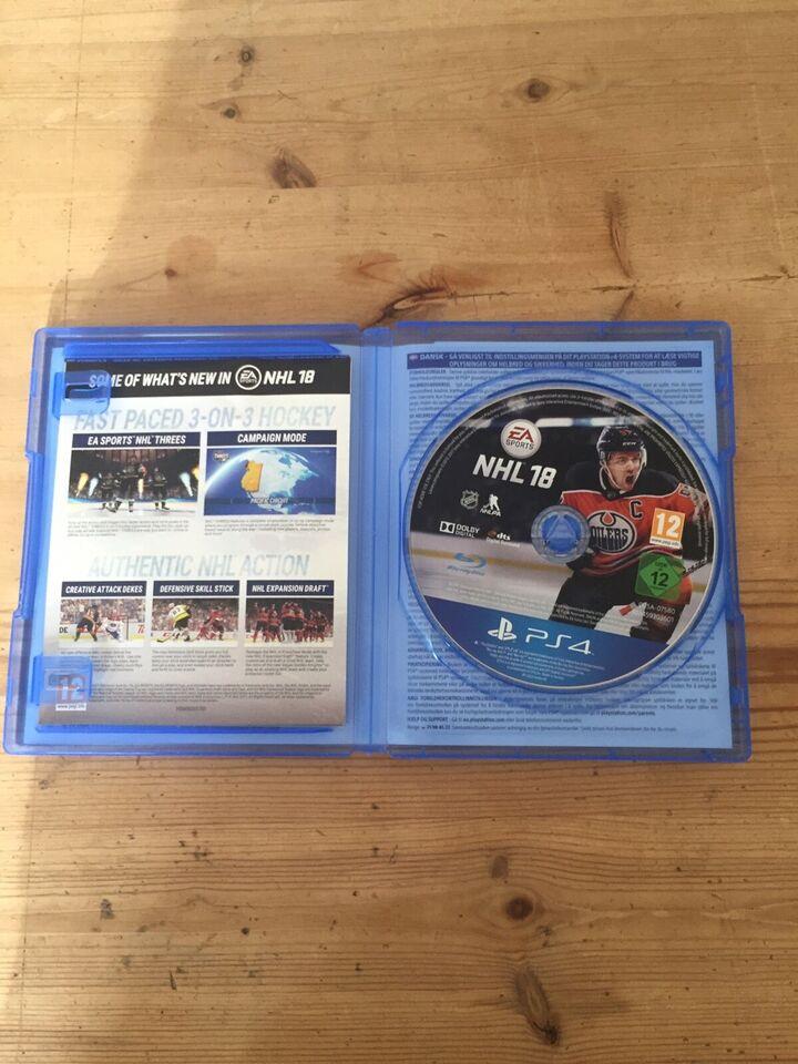 NHL 18, PS4
