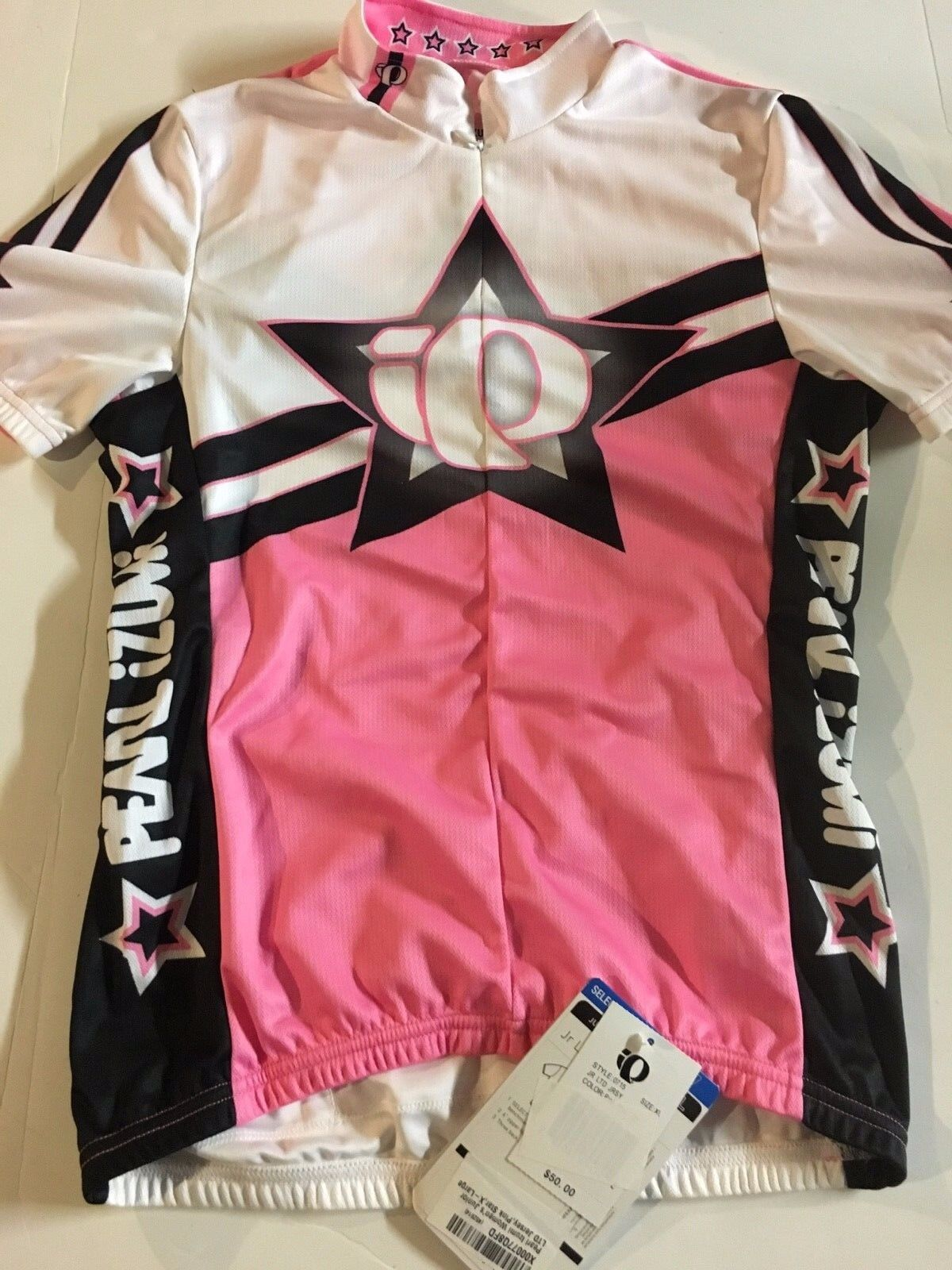 Pearl Izumi Women's Junior LTD Jersey, Pink Star, XL, New with tags