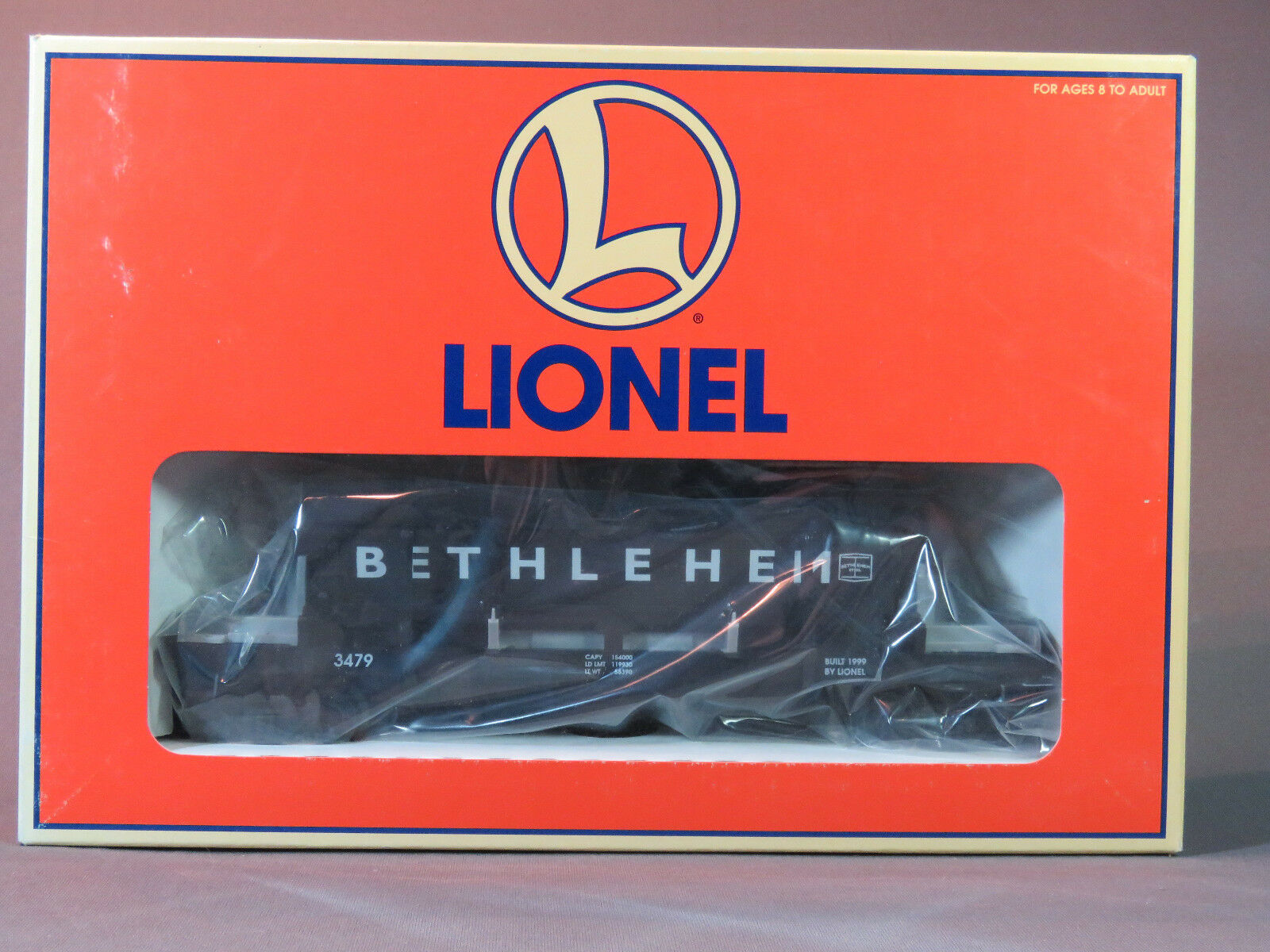 LIONEL Bethlehem Steel Coal Dump Car o gauge train 6-16782 NIB NR alt