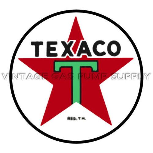 "Texaco Star 2/"" Vinyl Decal DC120D"