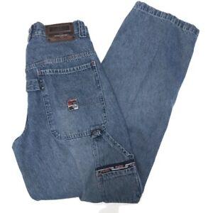 1980s Vintage GET USED Studded Hip Hop Jeans 80s Size 8 Denim Jeans