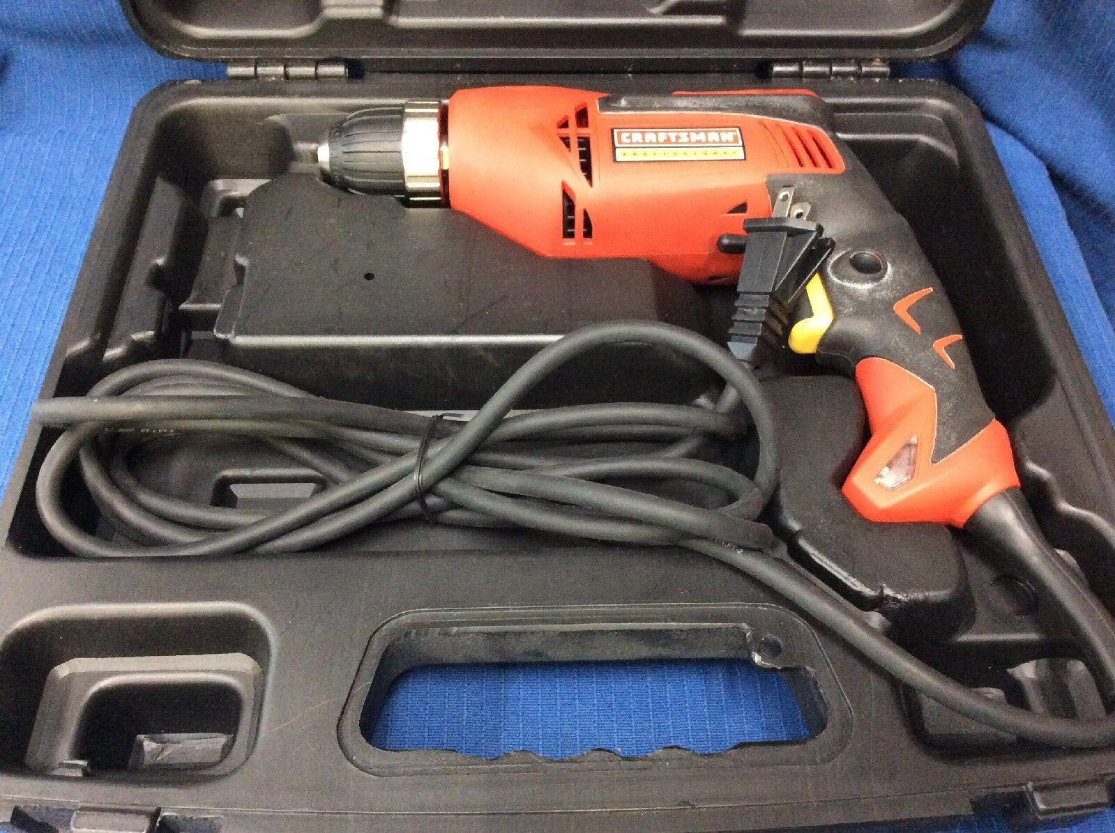 "Craftsman Model 315.281260 3 8"" Pro Rear Handle Drill"