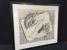 """RARE Dutch artist M. C. Escher """"Drawing Hands"""""""