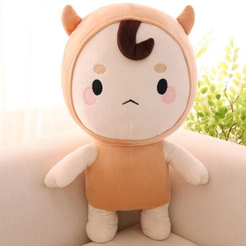 45CM Cute Korea Drama Goblin Lonely Fluffy Plush Stuffed Doll Fun Toy Kids Gift