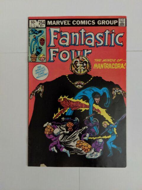 Fantastic Four #254 May 1983 Marvel Comics