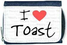 I Love Heart Toast Denim Wallet
