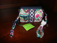 3afc2b01b item 1 NWT Vera Bradley All In One Cell phone Crossbody Wristlet Wallet  Petal Paisley -NWT Vera Bradley All In One Cell phone Crossbody Wristlet  Wallet ...