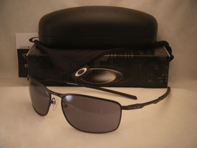 eab79bbb8e Oakley Conductor 8 Matte Black w Grey Lens NEW Sunglasses (oo4107-01)