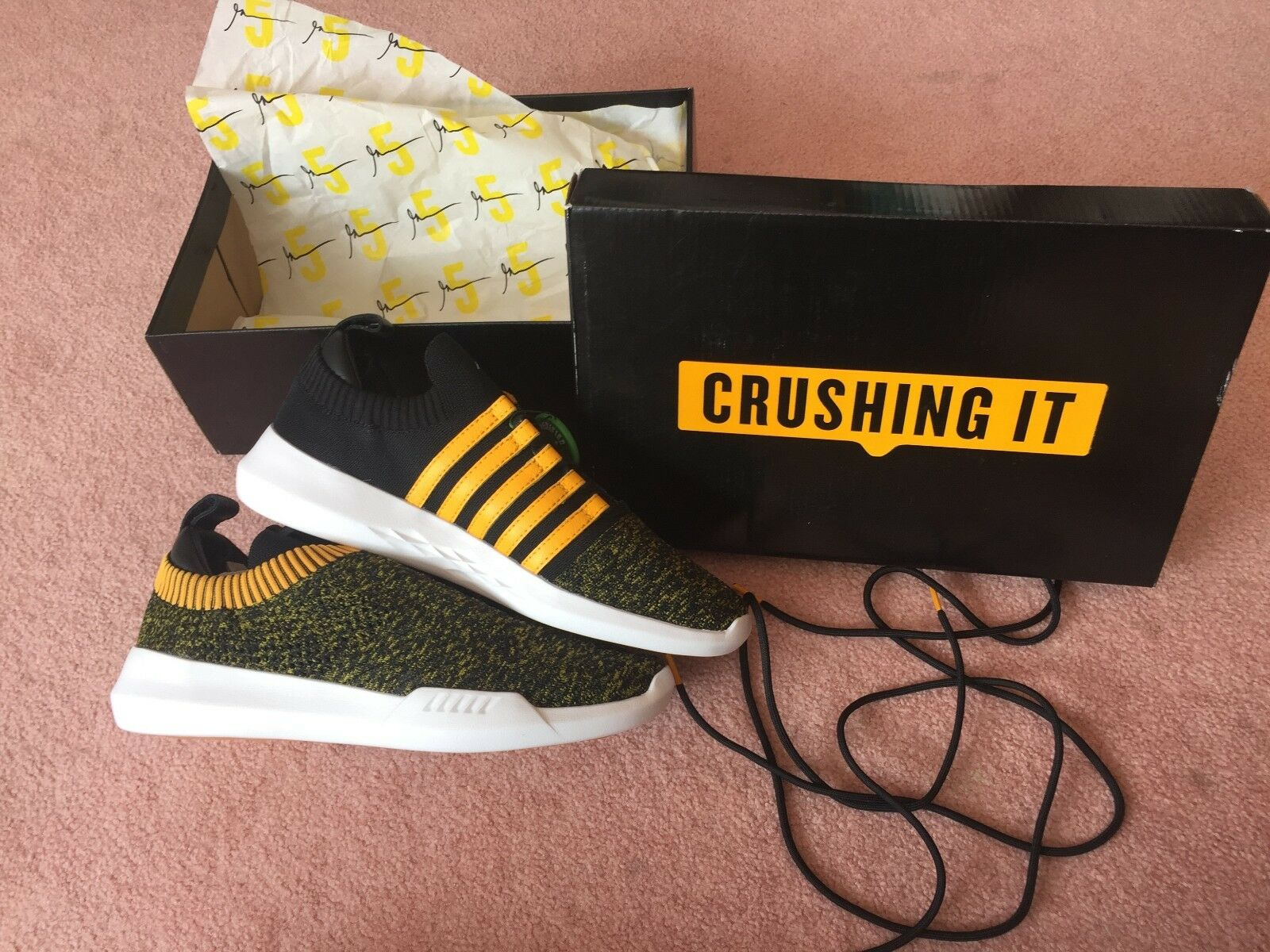 KSWISS GEN-K Icon KNIT GARY VEE 001 Crushing It GaryVee Sneaker Vaynerchuk Sz 9