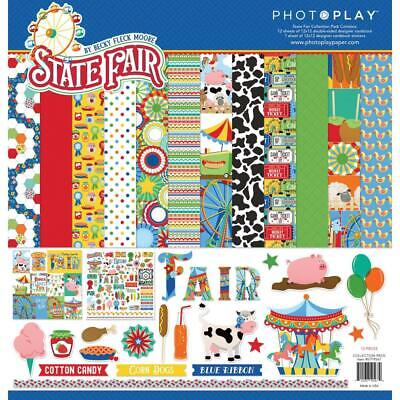 Walnut Grove Collection 12X12 Scrapbooking Kit American Crafts Pebbles 146 P New
